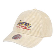 85 WOLRD CHAMPS DAD STRAPBACK HWC LOS ANGELES LAKERS