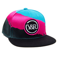 YOUNG&RECKLESS SPLASH SNAPBACK
