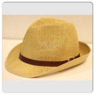 DAY PARTY STRAW FEDORA