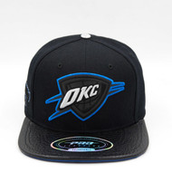 OKLAHOMA CITY THUNDER TEAM LOGO BLACK