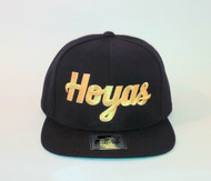 GEORGETOWN HOYAS-METALLIC GOLD