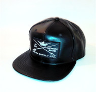 STELTH LEATHER SNAPBACK