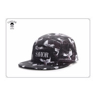 C&S WHITE LABEL SAVIOR 5-PANEL SNAPBACK