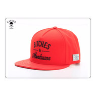 C&S GREEN LABEL B&M SNAPBACK-RED