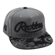 YOUNG&RECKLESS BIG R SCRIPT-GREY