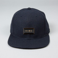 GOLD SEAL 6 PANEL SNAPBACK-BLUE