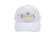 CULTURE ROSE HAT-WHITE