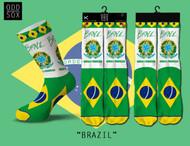 BRAZIL SOCK