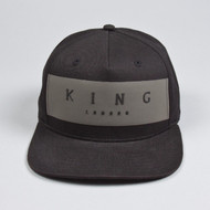 MANOR PINCH PANEL SNAPBACK-BLACK