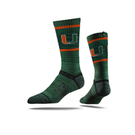 MIAMI HURRICANES CREW(GREEN)