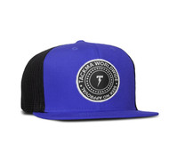 STAGE ONE GLOBAL TRUCKER HAT-BLUE