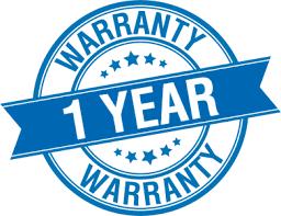 One Year Warranty