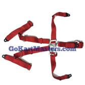 150 Seat Belt UPGRADE, 5 Point - Complete Set of 2