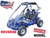 TrailMaster Mid XRX-R Go-Kart - Blue