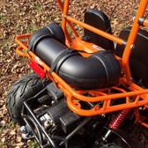 "Dual 6.5"" Amplified 500W Go Kart Speaker Sound System - Fits TrailMaster 150"