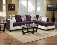 DELTONA AMETHYST 2PC SECTIONAL