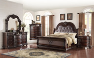 STANLEY MARBLE TOP 5PC BEDROOM SUITE
