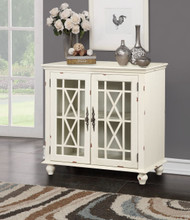 WHITE DISTRESSED CURIO