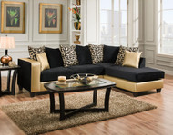 JENGA GOLD SECTIONAL