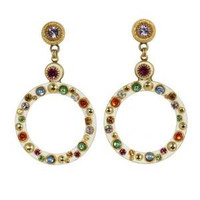 MICHAL GOLAN AURORA CRYSTAL EARRINGS S7196