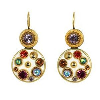 MICHAL GOLAN AURORA CRYSTAL EARRINGS S7189