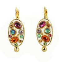 MICHAL GOLAN AURORA CRYSTAL EARRINGS S7186