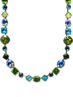 **SPECIAL ORDER**Sorrelli Ocean Crystal Necklace~Silver Finish NBP3ASOC