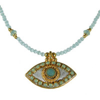Michal Golan Eye Necklace n2176