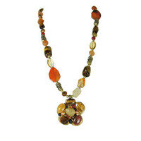 Michal Golan Red Rock Necklace N2146