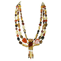 Michal Golan Red Rock Necklace N2140