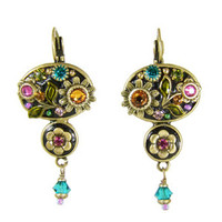 Michal Golan Midnight Blossom Earrings S7146