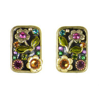 Michal Golan Midnight Blossom Earrings S5578