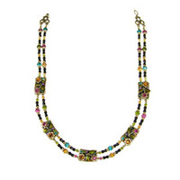 Michal Golan Midnight Blossom Necklace