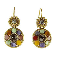 Michal Golan Earthly Flower Earrings S7159