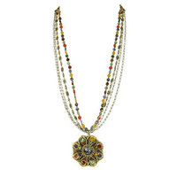 Michal Golan Earthly Flower Necklace N2133