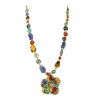 Michal Golan Earthly Flower Necklace N2126