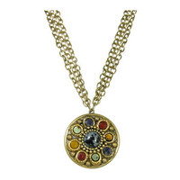 Michal Golan Earthly Flower Necklace N2124