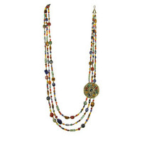 Michal Golan Earthly Flower Necklace