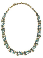 Sorrelli Aqua Bubbles Crystal Necklace~ NBR9AGAQB