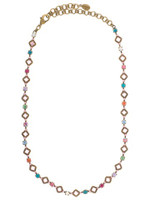 Sorrelli Lollipop Crystal Necklace~ NCA10AGLP