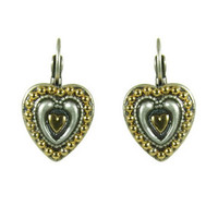 Michal Golan Silverado Heart Earrings
