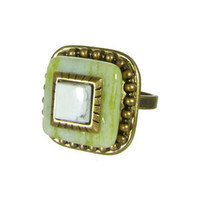 Michal Golan Key Lime Ring