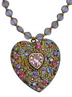 Michal Golan Heart Pendant N1350