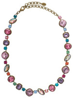 Sorrelli Lollipop Crystal Necklace~ NBX10AGLP