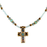 Michal Golan Cross Pendant N1317