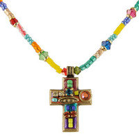 Michal Golan Cross Pendant N1118