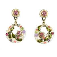 Michal Golan Pearl Blossom Earrings S6481