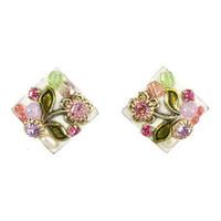 Michal Golan Pearl Blossom Earrings S6474