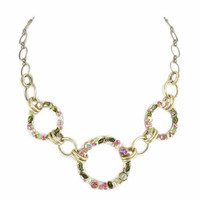 Michal Golan Pearl Blossom Necklace N1780
