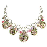 Michal Golan Pearl Blossom Necklace N1784